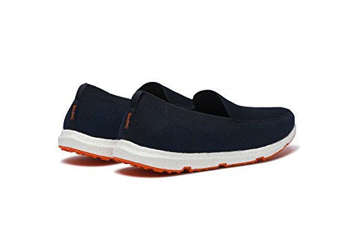 SWIMS Breeze Leapknit In Navy-Orange, Size 8 by SWIMS (Image #3)