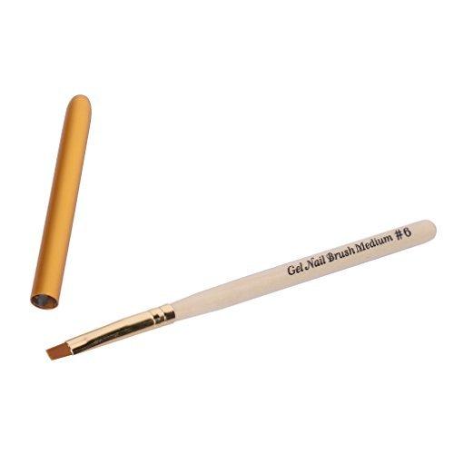 6 Gel Brushes - 7