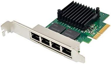 THGMP DELL NIC Intel i350-T4 4-Port PCI-E 2.1 x4 1GbE 4x RJ45 Full-Height P