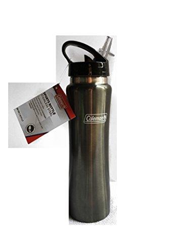 COLEMAN C01S162 26 Oz Stainless Steel Sports Bottle (Dark Grey)