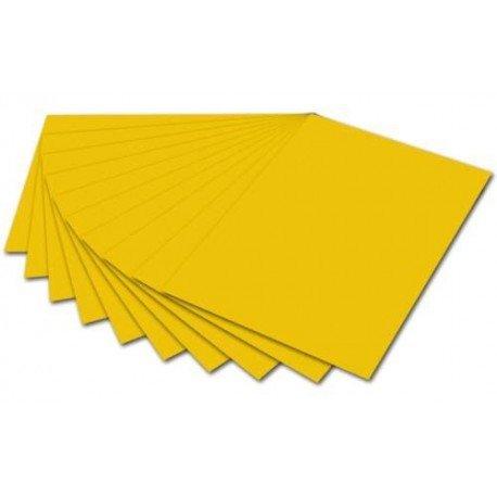 Glorex cartoncino colorato da 300/G//M2 Oro Giallo 70/x 50/x 0.2/cm Cartone