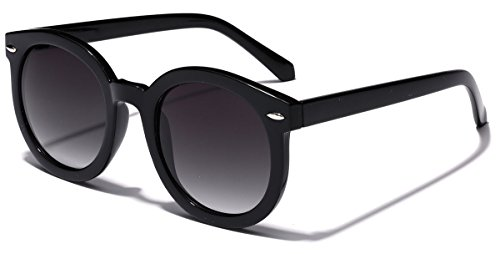 Vintage Retro 80's Round Frame Women's Fashion - Sunglasses Round Buy