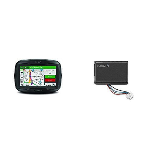 Garmin Zumo 395LM and Extra Battery Bundle by