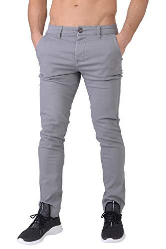 Anthracite Tordu Poche Jeans Gris Chiné Coupe Multi Crosshatch Cinche Kractus Hommes Slim 7RPSqxwp