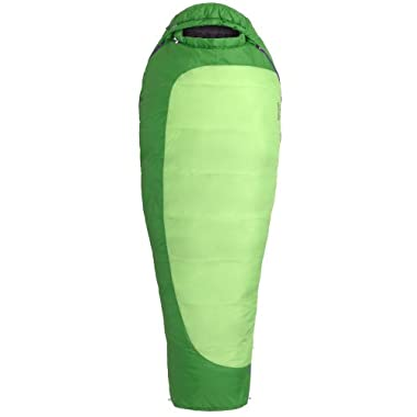 Marmot Women's Trestles 30 Synthetic Sleeping Bag, Regular-Right, Green