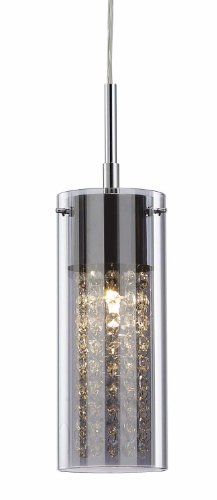 Canarm IPL178B01CH9 Sloan Pendant-Light, Chrome (Lights Kitchen Pendant Colored)