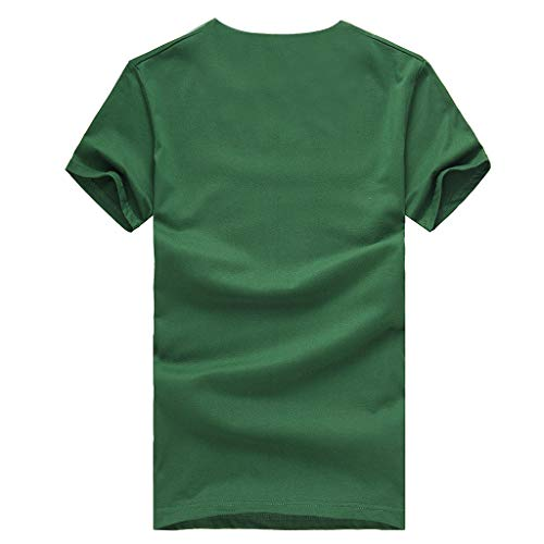 Winsummer Men's Graphic T Shirt Savage Summer Short Sleeve T-Shirts Slim Fit Casual Tees Tops Green by Winsummer (Image #2)