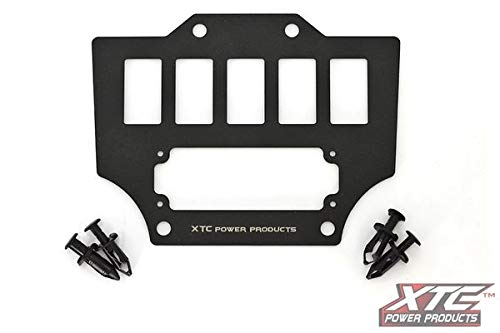 Talon Center Console Switch Plate with Intercom Mount by XTC Power Products