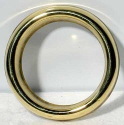 (Brass Oil Ring For Light Bulbs)