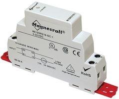 MAGNECRAFT 861SSR115-DD SSR, DIN RAIL MOUNT, 50VDC, 32VDC, 15A