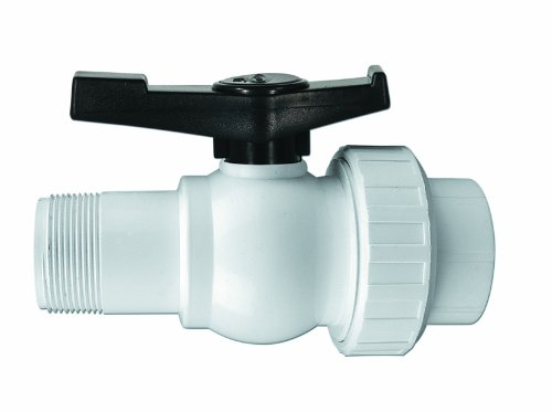 HydroTools by Swimline Precision Male & Female Threaded Ball Valve for Pools