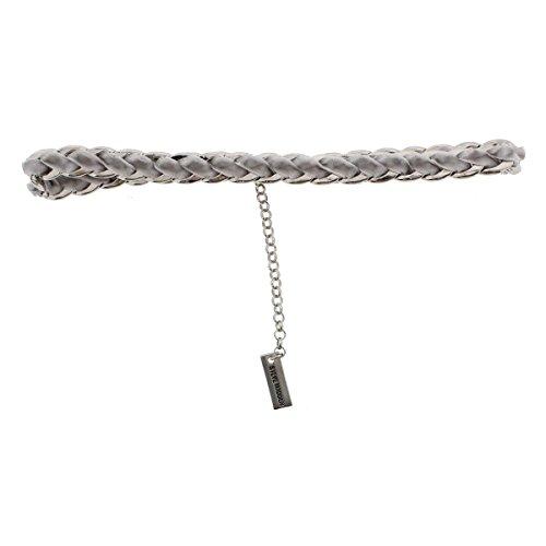 Steve Madden Velvet Laced Curb Choker Necklace, 12