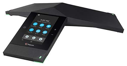 Polycom Realpresence Trio 8800 2200-66070-019 Lync/Skype for Business Edition PoE Conference Phone, Black (Renewed)