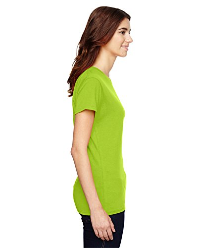 Maglietta Arancio fluo Donna Cotone Anvil 100 OwdT448
