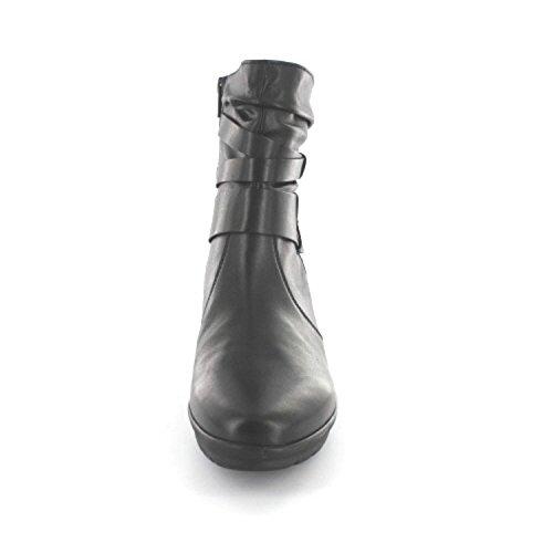 Gabor - botas clásicas de cuero mujer Negro