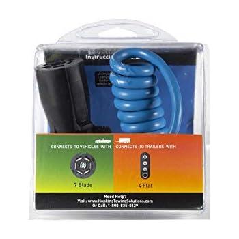 Amazon.com: MaxxHaul 70085 7-Way RV Blade to 4-Wire Flat