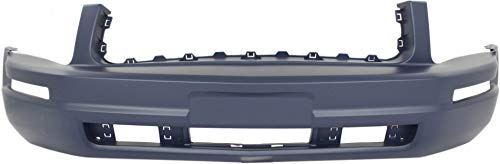 2009 Ford Mustang Bumper - Front Bumper Cover for FORD MUSTANG 2005-2009 Primed Base Model With Pony Package