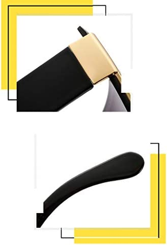 Occhiali da Sole Sunglasses Stile Occhiali da Sole Quadrati Donna Occhiali Sfumati Senza Montatura in Metallo Sfumato Trend Uomo E Donna Scatola Grande Selvaggia Oculos De sol 2