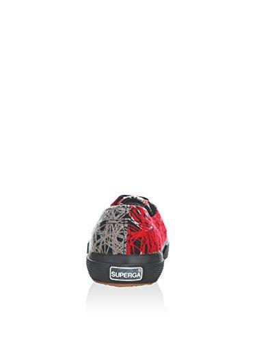 Le Superga - 2750-fantasyw 3 Red-Grey-Beige