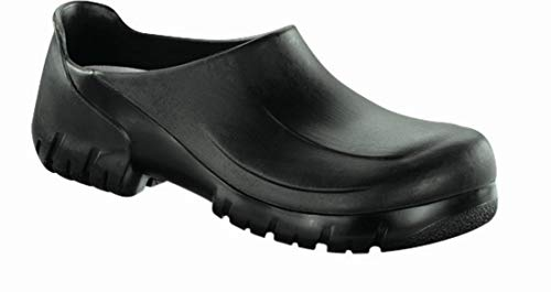 (Birkenstock A 640 PU Steel Toe Cap Black size EU 45 / US M12)