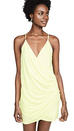 Young Fabulous & Broke Women's Brazil Dress, Lemon, Yellow, - Dress Womens Brazil