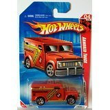 240 Armored Truck, Red 1:64 (Armored Truck)