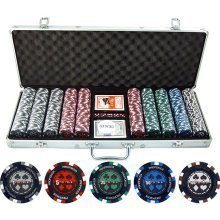 500 Piece Pro Poker Clay Poker Set by JP Commerce