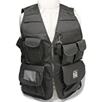 Portabrace VV-LBL Video Vest 42-Inch-46-Inch - Large (Black)