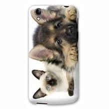 Case Alcatel Idol 3 4.7 animals 2 - - dog vs cat B -
