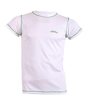 Padel Session Camiseta Tecnica Blanco Verde: Amazon.es: Deportes y aire libre