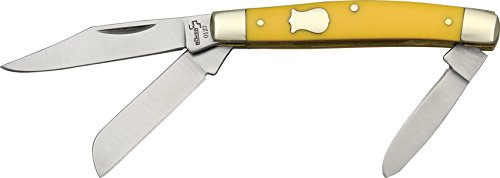 Folder Double Bolster (Boker Plus 01BO234Y Small Stockman Knife)