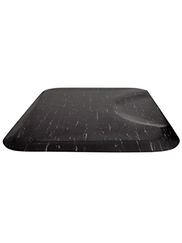 BR Beauty Salon and Barber Shop Marble Anti-Fatigue Mat (Rectangle, 3'x4'x3/8