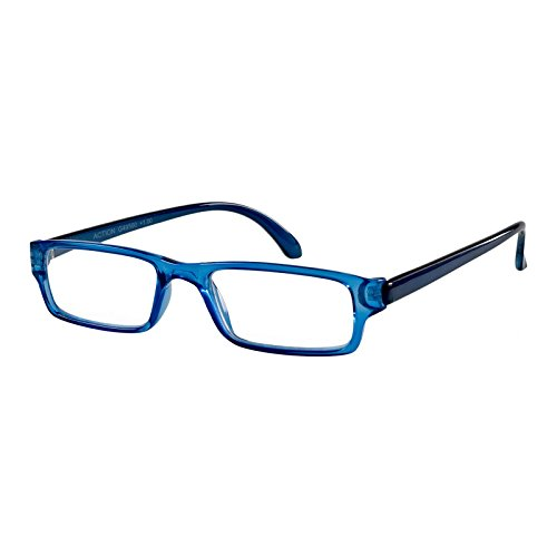I NEED YOU Lesebrille Action SPH: 1.00 Farbe: blau-kristall, 1 Stück
