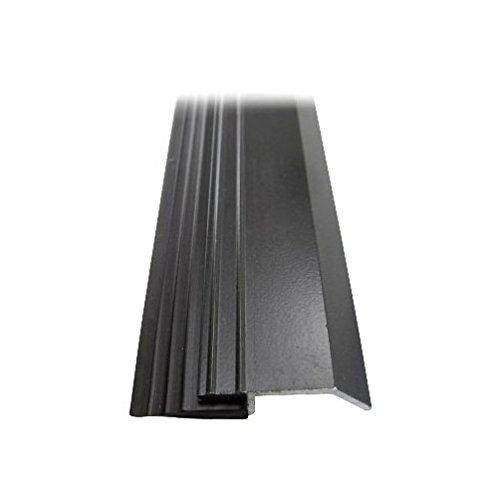 3/4'' X 36'' Heavy Duty Brown Aluminum Door Sweep
