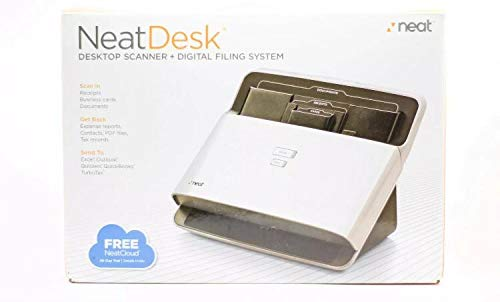 NeatDesk Plus Desktop Scanner + Digital Filing System for PC by Neat