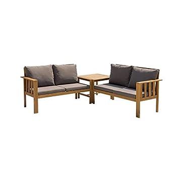 Générique Salon de Jardin 4 Places - 1 Table avec 2 ...