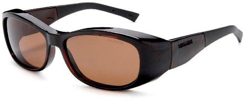Haven Fits Over Sunwear Solana Over-Prescription Sunglasses,Tortoise Frame/Amber Lens,one - Sunglasses Haven Over Fits