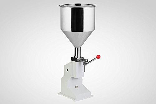 VEVOR Bottle Filling Machine 5-50ml Liquid Filling Machine Stainless Steel Filling Machine for Cream Shampoo Cosmetic Bottler Filler (5-50mL Manual Filling) by VEVOR (Image #5)