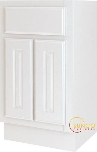 Bathroom Vanity White 18x16 SUNCO VS1816YT