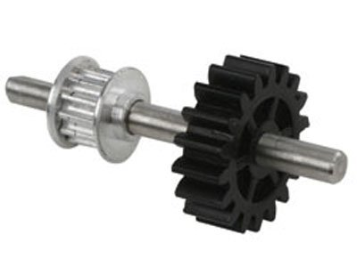 (E-Flite Aluminum Speed-Up Tail Drive Gear/Pulley Assembly: Blade 400)