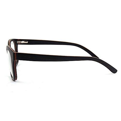 de de alta Ojos de leopardo marco Adult ocio hechas a Eyewear los Diseñador de Original mano de impresión del la artísticas gato Gafas madera Wayfarer Negro calidad Gafas Gafas sol de de Gafas hombres de RqXv6Xa