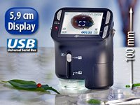 Octacam usb hand mikroskop mit mega kamera amazon