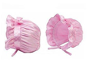Culater/®Newborn Baby Girl Boy Summer Sun Polka Dots Beanie Hat Cap 2-12 Months