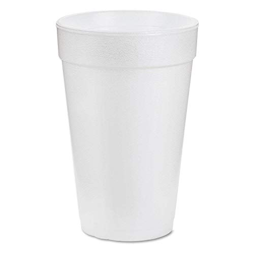 DART WHITE FOAM CUPS 16 OZ 4 packs of 25 (100 count) (see more size options) Dart Dart Foam Cup