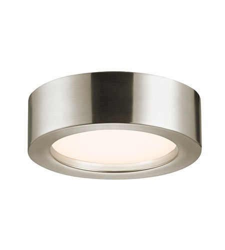 Puck Surface Sonneman Mount (Sonneman 3723-13 3723.13 Transitional Surface Mount from Puck Slim Led Collection in Pwt, Nckl, B/S, Slvr. Finish, 8