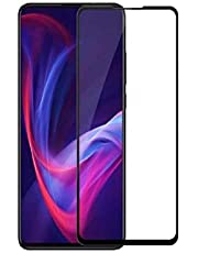 شاشة حماية مصنوعة من الزجاج المقوى بدرجة صلابة 5 لموبايل شاومي 9 تي، اسود