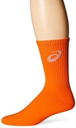 ASICS Team Crew Sock, Neon Orange, X-Large