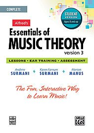 Alfred 00-34627 Essentials of Music Theory- Software- Version 3 CD-ROM Student Version- Complete Volume