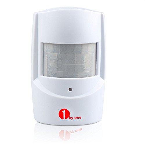 1byone PIR Motion Sensor for Wireless Driveway Alert