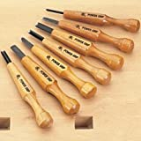 Mikisyo Power Grip Carving Tools, 7 Piece Set (Japan Import)